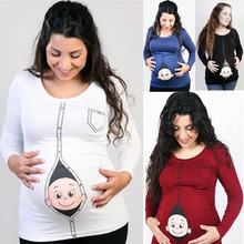 Maternity Clothings Tees T shirts clothing pregnancy clothes pregnant women pregnancy feeding plus size female nursing summer