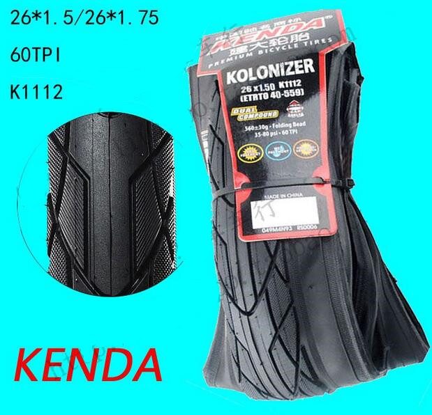 Kenda folding bike tire 26*1.5/1.75 MTB quality goods bicycle tire mountain tires bike parts kenda mtb bicycle tire 27 5x1 95 mountain bike tyres bicycle parts k1118