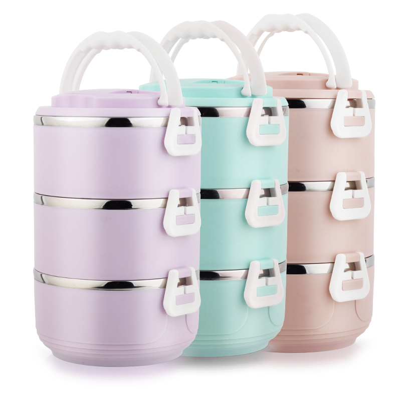 304 stainless steel student Multi-layer Extra long insulation lunch box Lunch Box Double 2345 layers Lunch box Leakproof cover bear dfh s2516 electric box insulation heating lunch box cooking lunch boxes hot meal ceramic gall stainless steel