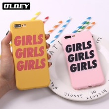 Iphone 11 pro 6 s 5se 8 8 plus x xs max 7 7 plus 소프트 tpu 실리콘 매트 케이스 fundas coque cover girls power gang fun fashion(China)