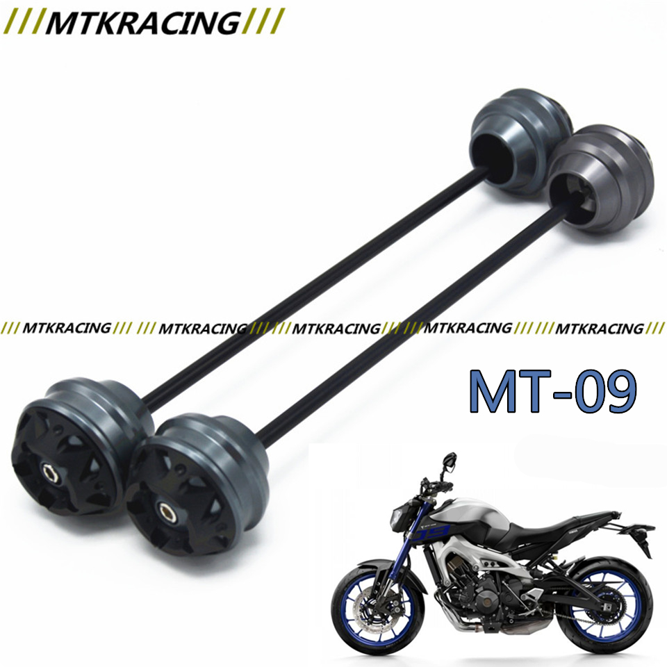 Free delivery for YAMAHA MT-09 2013-2015 CNC Modified+Motorcycle Front and rear wheels drop ball / shock absorber preeti pandey saurabh pandey and ranjit singh transdermal drug delivery for an antidiabetic agent