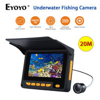 Eyoyo F05 4 3 LCD 20m Underwater Camera Video HD 1000TVL Waterproof Fish Finder Sea Ice