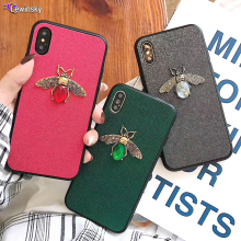 3D luxury brand cute diamond retro bee bling soft case for Huawei Mate 20 pro P20 lite Nova 3 P Smart plus Honor8X 10 Cover Case