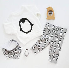 Kids Baby Clothes Outfits Long Sleeve 3pcs/Sets
