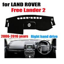 Fuwayda приборной панели автомобиля охватывает мат для Land Rover Free Lander 2 2006-2016 правым dashmat Pad Даш крышка Автоматический аксессуары