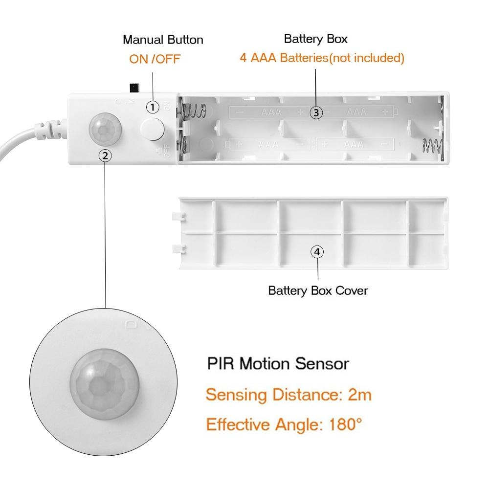 Tiras de Led conduzida flexível do diodo emissor Usage : Baby Night Light