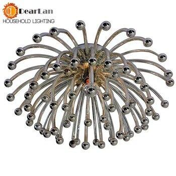 LED Deckenleuchten | Moderne Kreative Decken Lampen, Silber Überzogene Acryl Korallen Lichter Für Wohnzimmer/Schlafzimmer/Küche Zimmer Für Dekoration (XP-50)