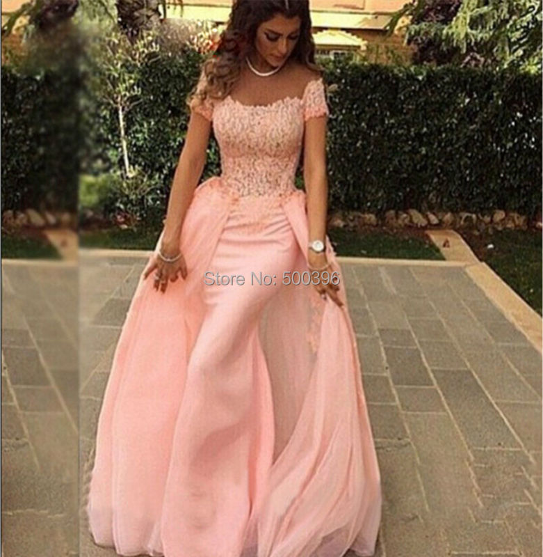 Aliexpress.com : Buy New Detachable Lovely Mermaid Prom Dress 2015 ...
