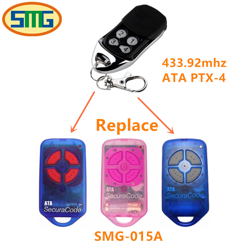 ATA PTX-4 SECURACODE GARAGE ROLLER DOOR REPLACEMENT REMOTE CONTROL Gates remotes free shipping ...
