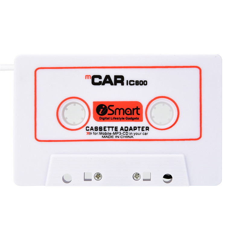 For Car Automobile IC800 Cassette Casette Tape 3.5mm AUX Audio Adapter For MP3/MP4 CD For iPod/iPhone Car Audio A8 touchstone teacher s edition 4 with audio cd