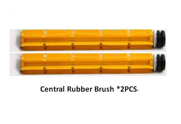 (For Cleaner-A320/A325/A330/A335/A336/A337/A338) Spare part for Robot Vacuum Cleaner, Rubber Brush*2PCS