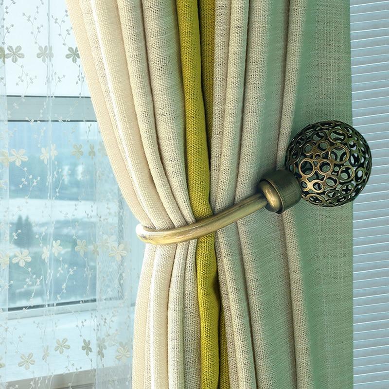 1pcs metal hollow wall curtain hook window curtain tieback hanger holdback holder hardware accessories