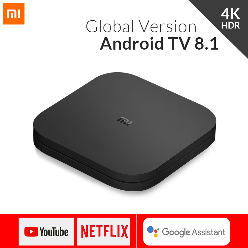 Xiaomi Mi Box S 4K Android 8 1 TV Box Mali 450 1000Mbp Android 8 1