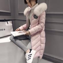 Best Winter Lady Natural fox fur collar Women's Genuine Fur Overcoat Girl's real fox fur collar Fur Hooded Jacket
