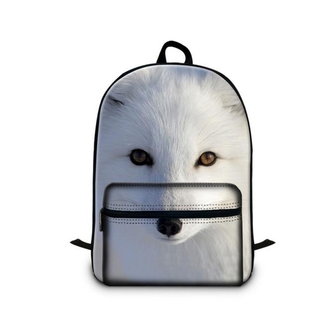 2018 Best School Backpacks for Children Fashion Fox Printing Lightweight Back  Pack Animal Bookbags for Girls Teen Boys Schoolbag 43b9eb5e4f139