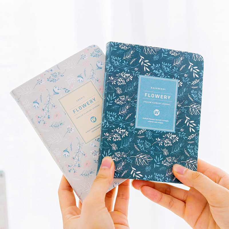kemila A6 School Notebook Paper Korean Planner Flower Notebook Diary Monthly Daily Weekly Planner A6 Organizer Agenda коляска noordi noordi коляска 3 в 1 polaris sport brown algiers blue 651