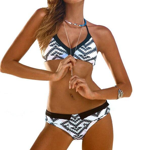 Bikini lady moderate solid