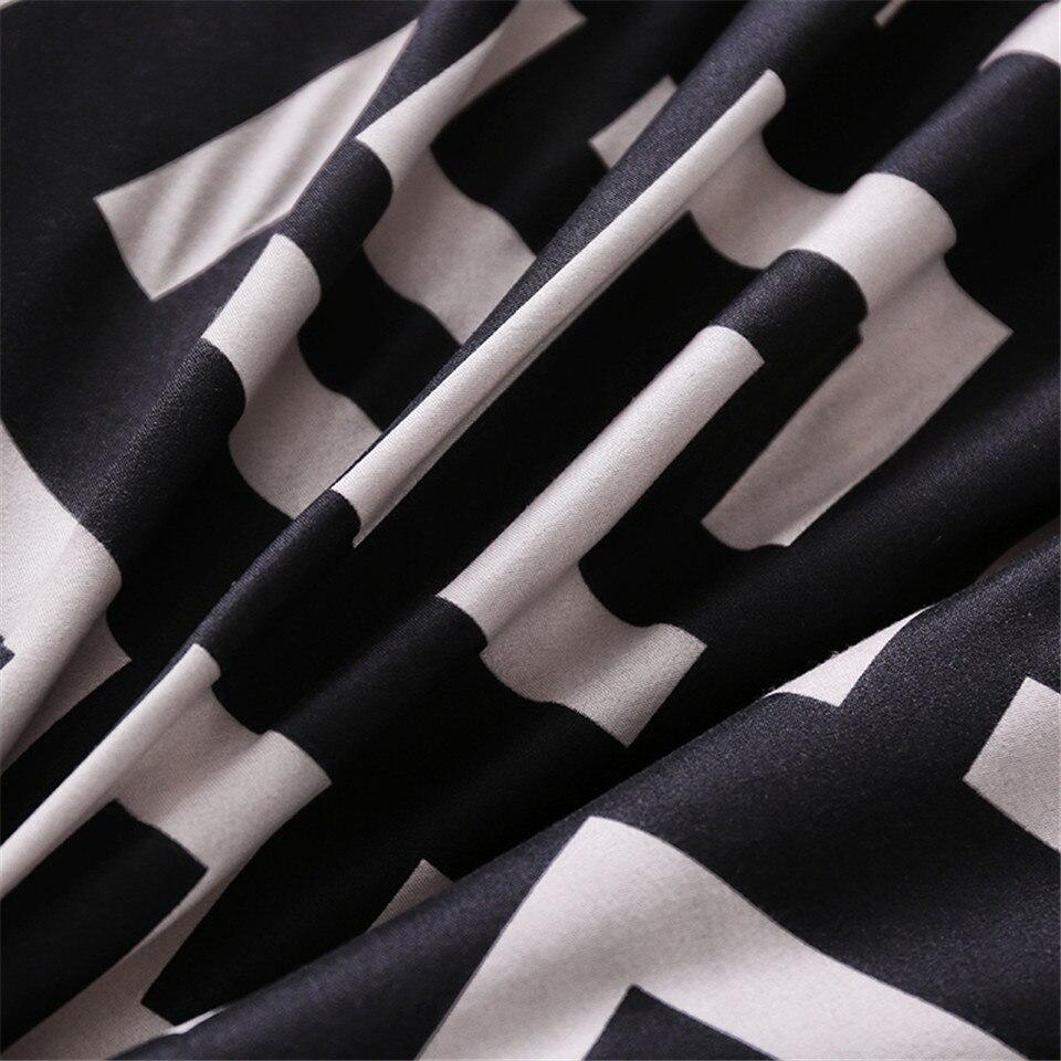 Modern Geometric California King Bedding Sets Luxury Duvet Cover Set Pillowcase Duvet Covers 229 260 3pcs
