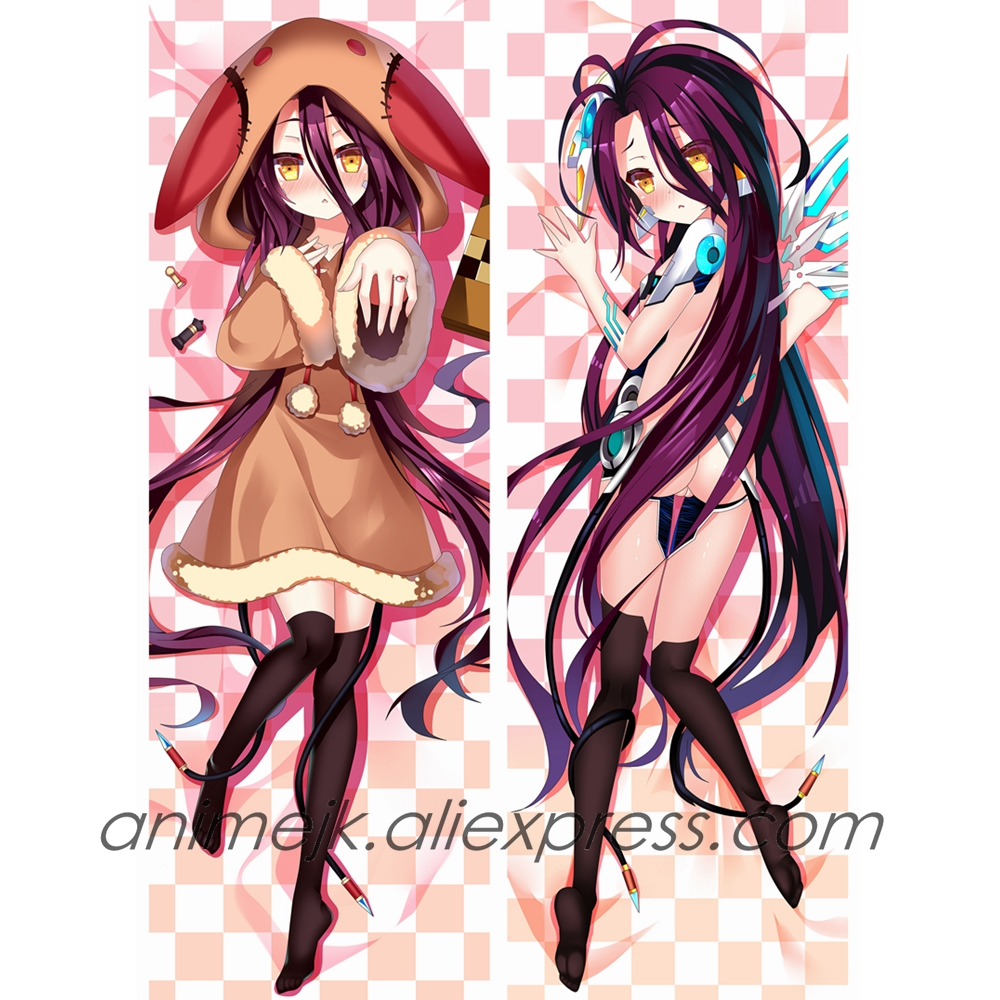 Anime Jk No Game No Life Schwi Dola Dakimakura Body Pillowcase Shuvi Dola Hug Pillow Cover Case Costume Props