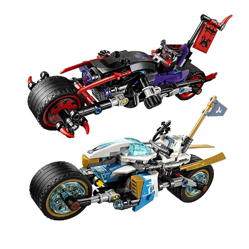 330 piezas Ninjagoed calle carrera de serpiente Jaguar 70639 Kit de ...