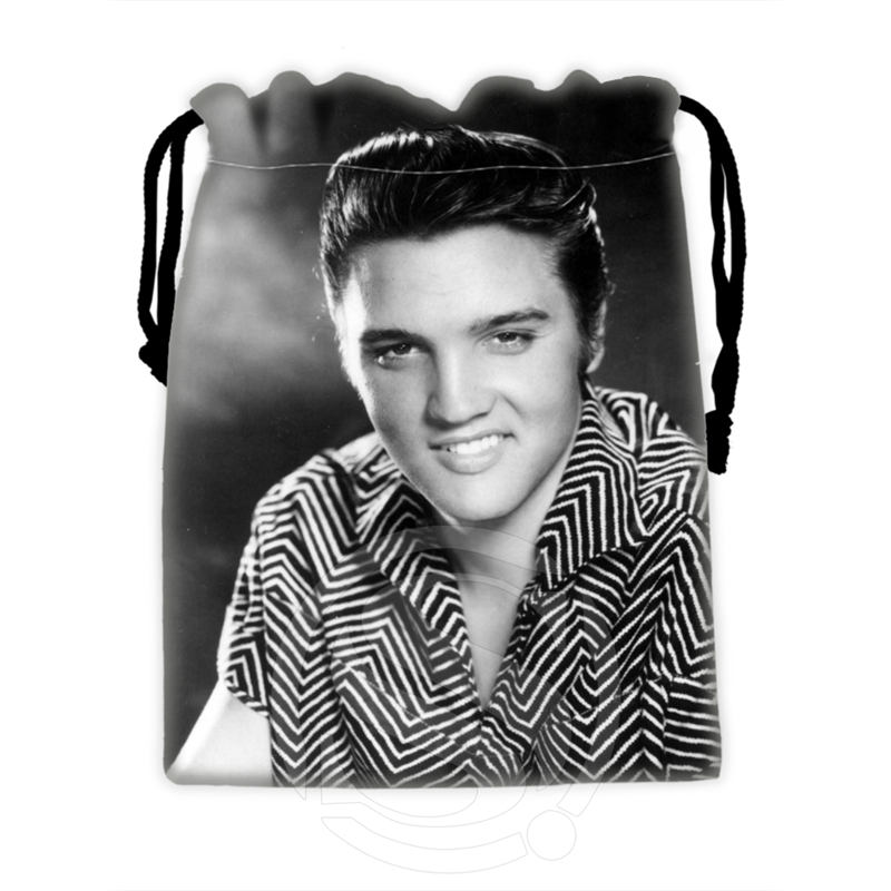H-P723 Custom Elvis#11 Drawstring Bags For Mobile Phone Tablet PC Packaging Gift Bags18X22cm SQ00806#H0723
