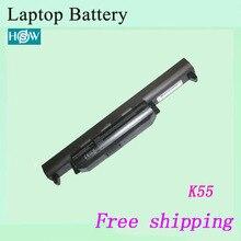K55 K55A K55D K55DE K55DR K55N K55V K55VD K55VM K55VS Аккумулятор для ноутбука Asus A32-K55 A33-K55 A41-K55