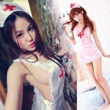 Медсестра костюмы сексуальное женское белье горячая эротика для женщин косплей нижнее белье пижамы kigurumi Интимных товаров секс игрушки babydoll очаровательная