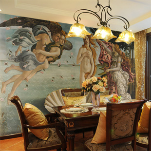 Custom large mural 3D wallpaper 3D wallpaper living room bedroom sofa background 3D wallpaper European painting Venus dirt road design 3 d large sitting room the bedroom room corridor screen maple mural wallpaper background picture papeles pintad