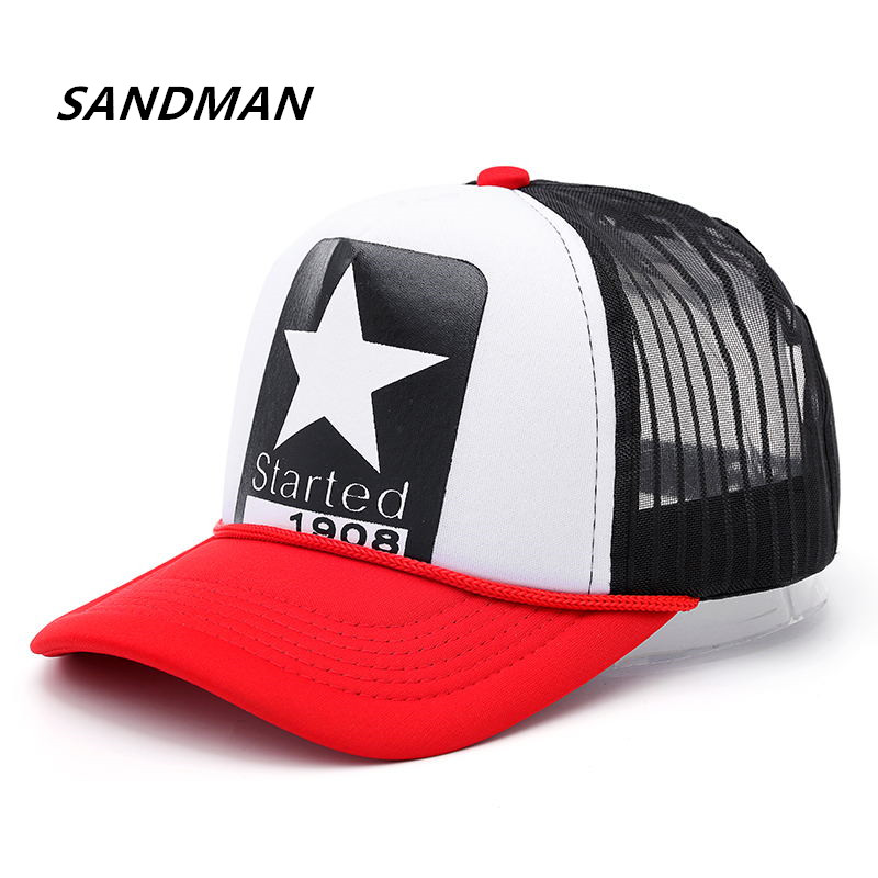 High Quality New Summer Baseball Cotton Mesh Cap Snapback Dad Hat Fashion Trucker Adjustable Hat Hip Hop Hat Women Men Cap Bone new fashion floral adjustable women cowboy denim baseball cap jean summer hat female adult girls hip hop caps snapback bone hats