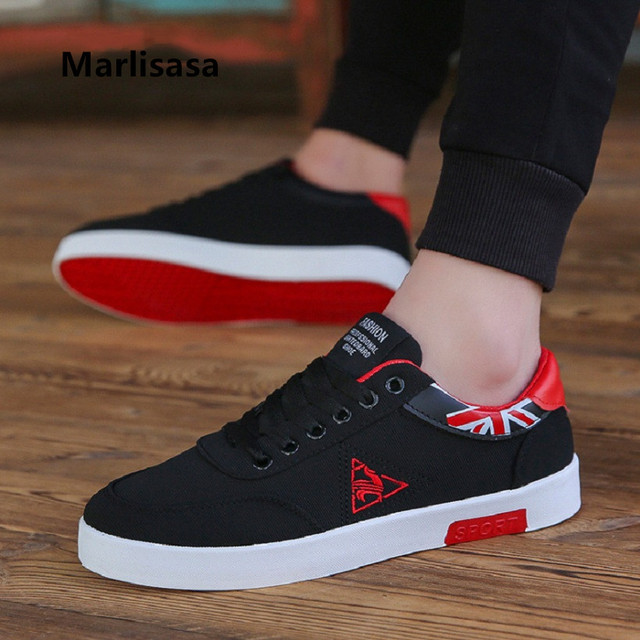 Marlisasa Chaussures Pour Hommes Male Fashion High Quality Lace Up Shoes Men Casual Spring Shoes Autumn Anti Skid Shoes F593