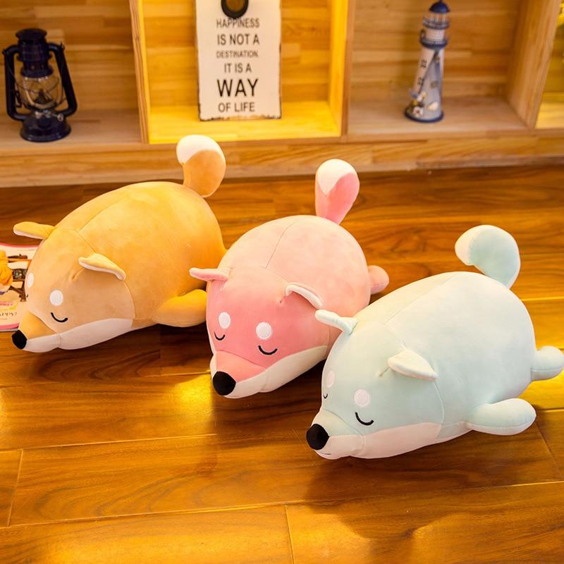 shiba inu soft plush toys for children girls stuffed animals anime dog nooer new arrival husky shiba inu stuffed plush toy cute soft husky shiba inu stuffed pillow sofa cushion kids birthday gift