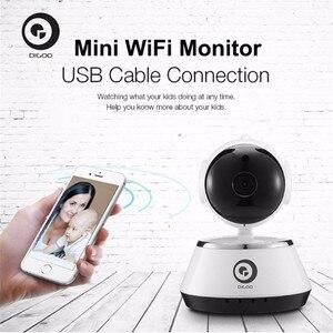 Image 5 - DIGOO BB M1 홈 보안 IP 카메라 720P 무선 스마트 와이파이 카메라 와이파이 오디오 기록 감시 베이비 모니터 HD CCTV 카메라
