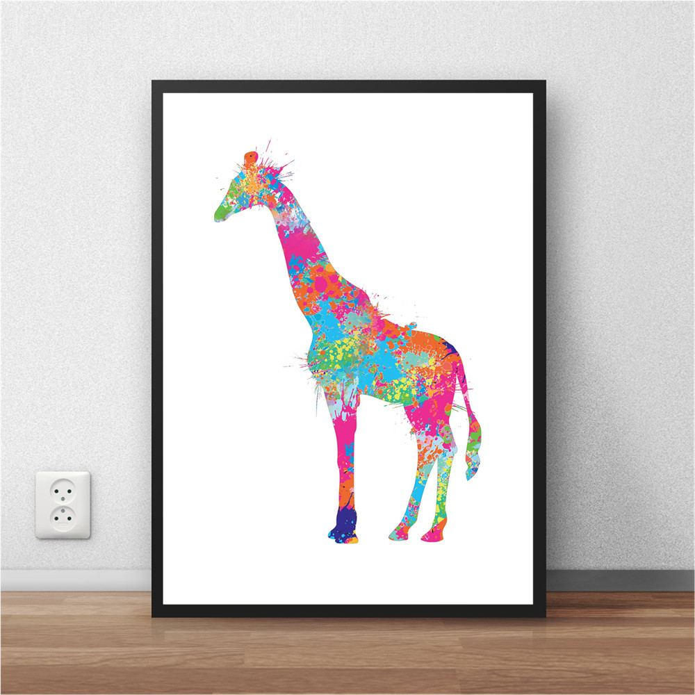 Giraffe print wall stickers sticker creations compare prices on giraffe print wall stickers online ping amipublicfo Gallery