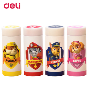 Deli wholesale kawaii eraser Paw Patrol rubber school erasers for chidren gift school supplies stationery items pencil eraser