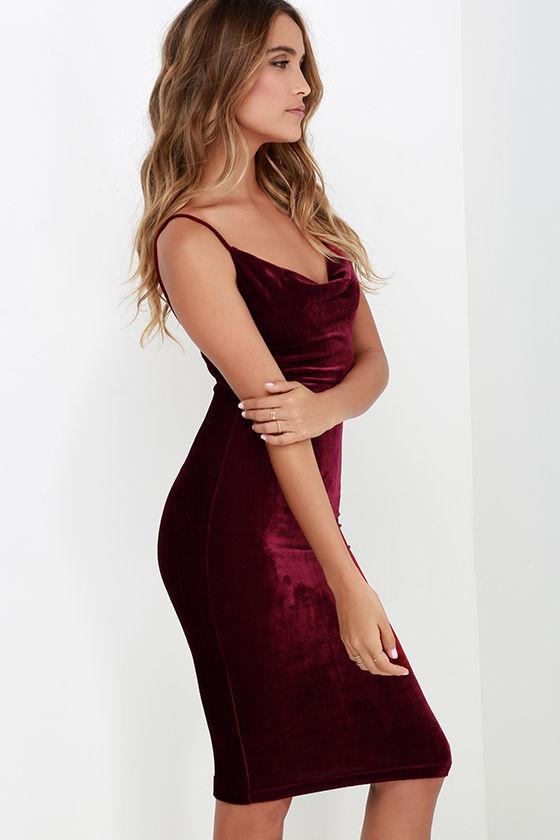 HTB1hCWJKVXXXXXgapXXq6xXFXXXp - FREE SHIPPING Sexy Velvet Dress JKP207