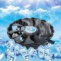 Apoyo dc12v 3 pin disipador térmico del ventilador de refrigeración silencioso ventilador de la cpu intel/amd de escritorio pc