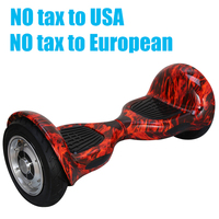 Free Shipping 10 Inch Mini Smart Self Balance Scooter 2 Wheel Smart Self Balancing Electric Drift