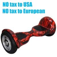 Free Shipping 10 Inch Mini Smart Self Balance Scooter 2 Wheel Smart Self Balancing Electric Drift