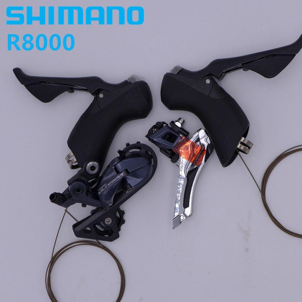 Kit de mise à niveau SHIMANO ULTEGRA R8000 groupe vélo de route dérailleur avant/arrière et manettes de vitesse