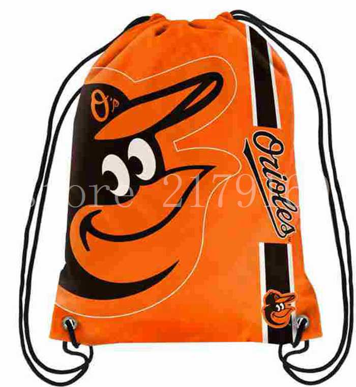 110g-knitted-polyester-35-45-cm-Baltimore-Orioles-backpack-bagsin-with-Metal-Grommets