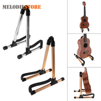 Aluminium Alloy Guitar Stand Holder Universal Folding A Frame Floor Stand Mount Rack Bracket For Guitar