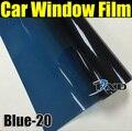 50x300 cm Blue Car Window Tint Film Vidrio VLT 20% Coche Automático Casa Comercial de Protección Solar Del Verano por envío gratis