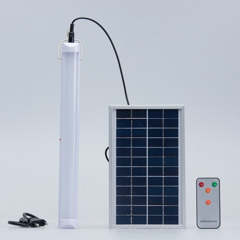 ФОТО Unique 5W Remote Control  Solar LED Rechargeable Tube Lamp Light multifunctional  Outdoor Portable Camping DC12V Solar charge