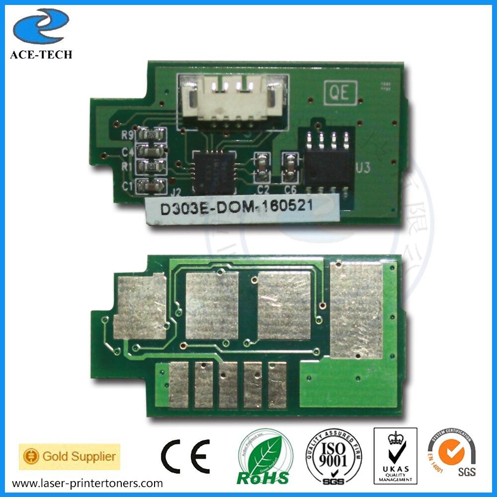 40K MLT-D303E Toner Reset Chip for Samsung SL-M4580FX laser Printer Cartridge 10k mlt d201s toner reset chip for samsung sl m4030dn proxpress m4080fx laser printer cartridge 10pcs a lot