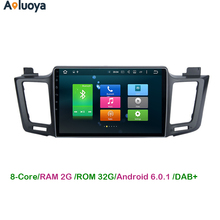 Aoluoya Octa-Core Android 6.0 Car DVD GPS Player For Toyota RAV4 RAV 4 2013 2014 2015 2016 Car audio video headunit WIFI 4G DAB