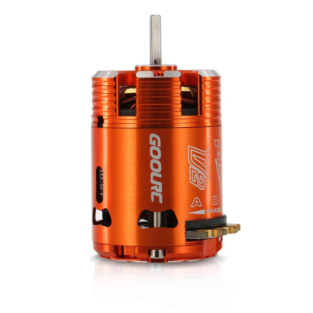 540 10.5T 3450KV Sensored Brushless Motor for 1//10 RC Car Truck Boat Crawler