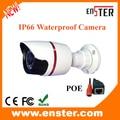 Enster 720 IP66 Waterproof  Bullet Mental Camera +POE 24 Pieces Leds 20M  CCTV IP Cameran with POE