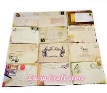 Шт.) лот скрапбукинг конверт старину = европейский под принадлежности канцелярские карты