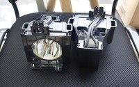 two pcs Panasonic PT D5500E/ET LAD55W Project Lamp