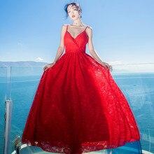 Spaghetti Strap Lace Prom Dresses NA01
